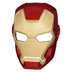 marvel iron hero mask figure