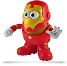 Marvel Comics Iron Man Mr Potato Head