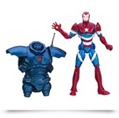 Marvel Iron Man Iron Patriot Figure 6
