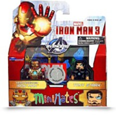 Mini Mates Exclusive Iron Man 3 Movie
