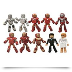 Minimates Iron Man 3 Hall Of Armor Figure