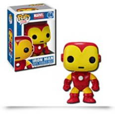 Pop Marvel 4 Inch Vinyl Figure Iron Man