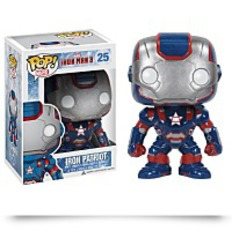 Pop Marvel Iron Man Movie 3 Iron Patriot