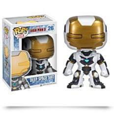 Pop Marvel Iron Man Movie 3 Space Suit