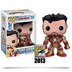 Sdcc 2013 Pop Iron Man 3 Mark 42 Unmasked