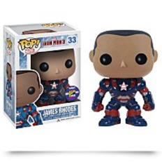 Sdcc 2013 Pop Iron Patriot Unmasked James