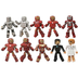 marvel minimates iron hall armor figure