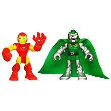 Super Hero Adventure 2 Pack Iron Man